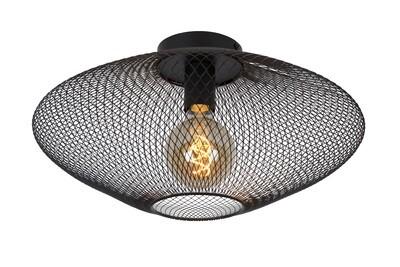 MESH Ceiling Light E27 Ø45cm H 24cm Black