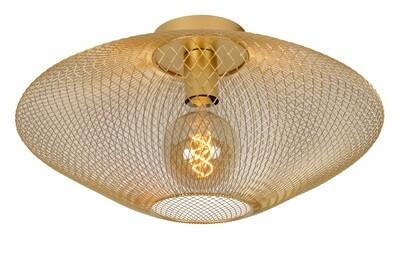 MESH Ceiling Light E27 Ø45cm Matt Gold / Brass