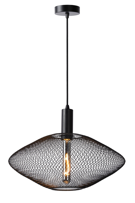 MESH - Pendant light - Ø45cm H 21cm - 1xE27 - Black
