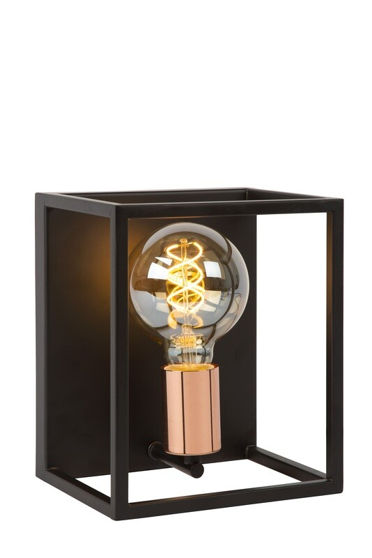 ARTHUR Wall light E27 Black/Copper