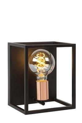 ARTHUR Wall light E27 Black/Copper