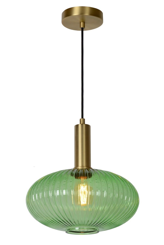 MALOTO Pendant  Ø30cm 1xE27 Green/Messing