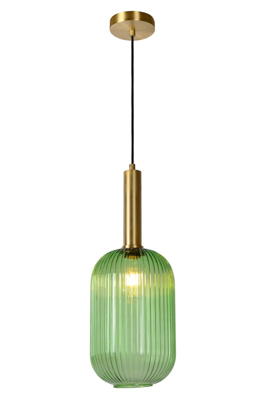 MALOTO Pendant Ø 20cm E27 Green/Messing