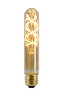 Vintage LED 15cm T30 E27, 5W 2400K, 260lm  Amber Finish DIMMABLE