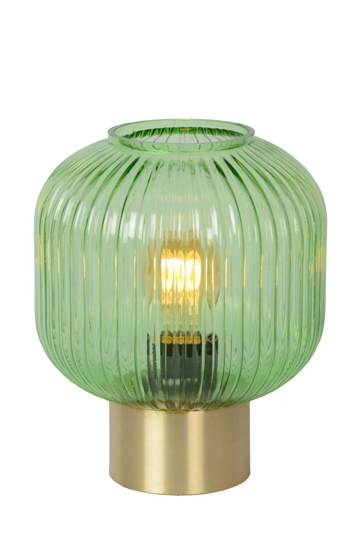 MALOTO Table lamp Ø20cm E27/40W Green/Messing