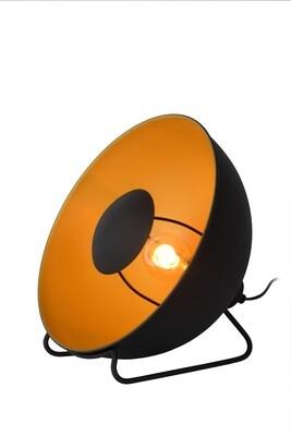 ALVARO Table lamp 1xE14 Ø20cm Black/Satin brass