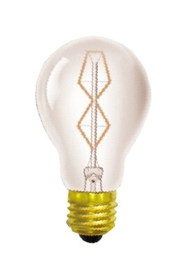 Rustica incandescent GLS/S E27 Tinted 40W dimmable