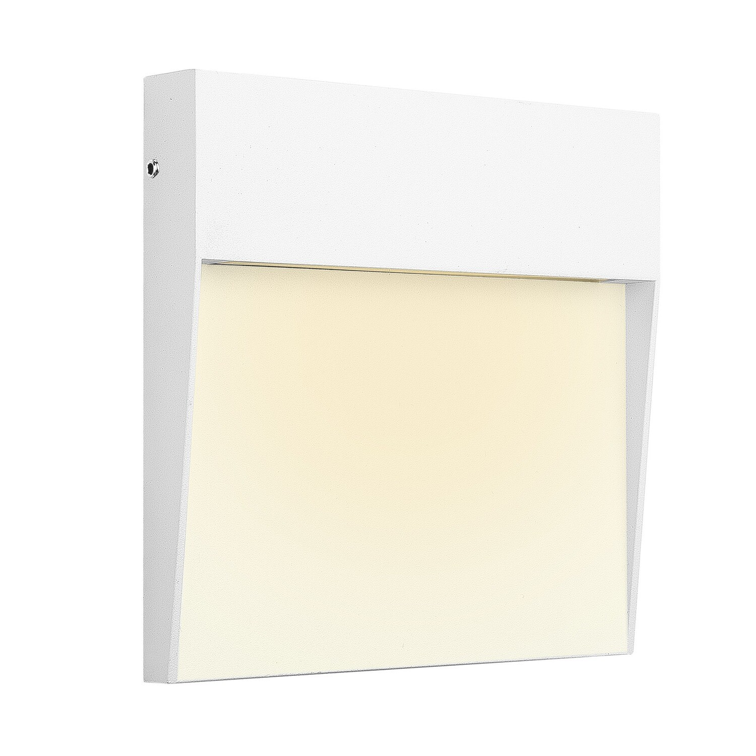 Baker Wall Lamp Large Square, 6W LED, 3000K, 266lm, IP54, White