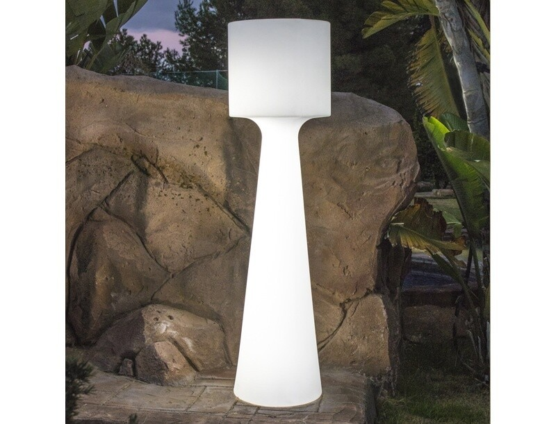 GRACE 170 cabled or rechargeable portable Outdoor Floor lamp IP65