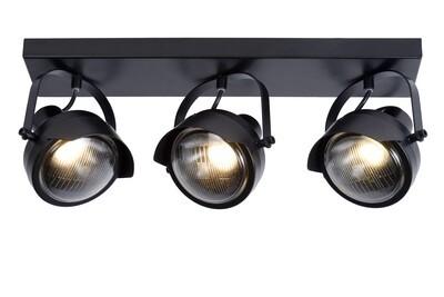 CICLETA Ceiling spotlight 3 x GU10 Black
