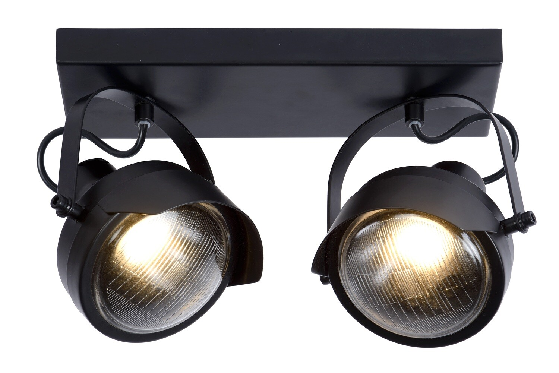 CICLETA Ceiling spotlight 2 x GU10 Black