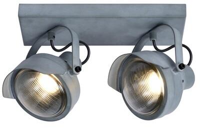 CICLETA Ceiling spotlight 2 x GU10 Grey