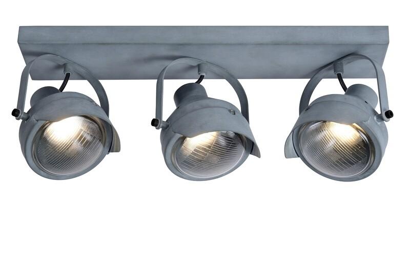 CICLETA Ceiling spotlight 3 x GU10 Grey