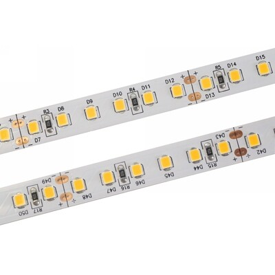 LED strip light 24V 19.2W/m 120 LED's/m IP20 by Axios Select (UK)