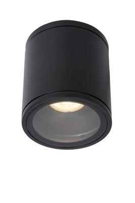 AVEN Ceiling spotlight IP65  Ø 9 cm 1xGU10 Black
