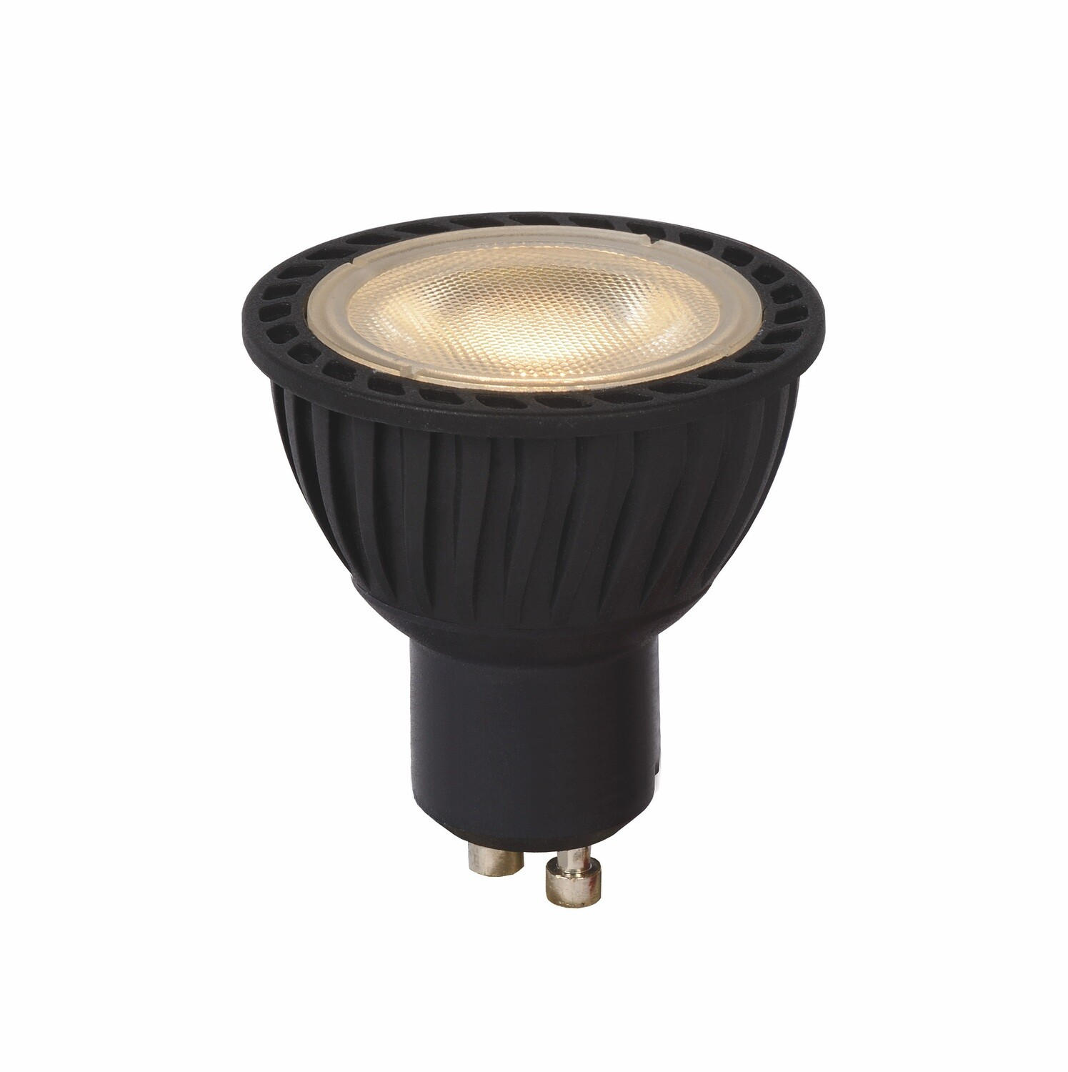 PACK OF 3 GU10-LED 5W beam 40º 3000K (warm white) 320lm DIMMABLE black
