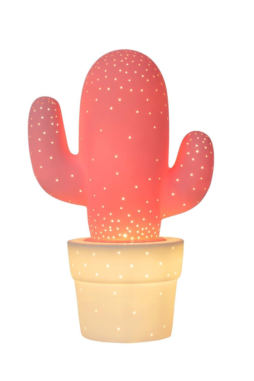 CACTUS ceramic Table lamp  Ø 20cm 1xE14 Pink