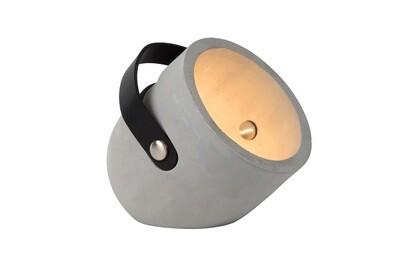 COPAIN Table Lamp E27 Concreet H24cm Taupe