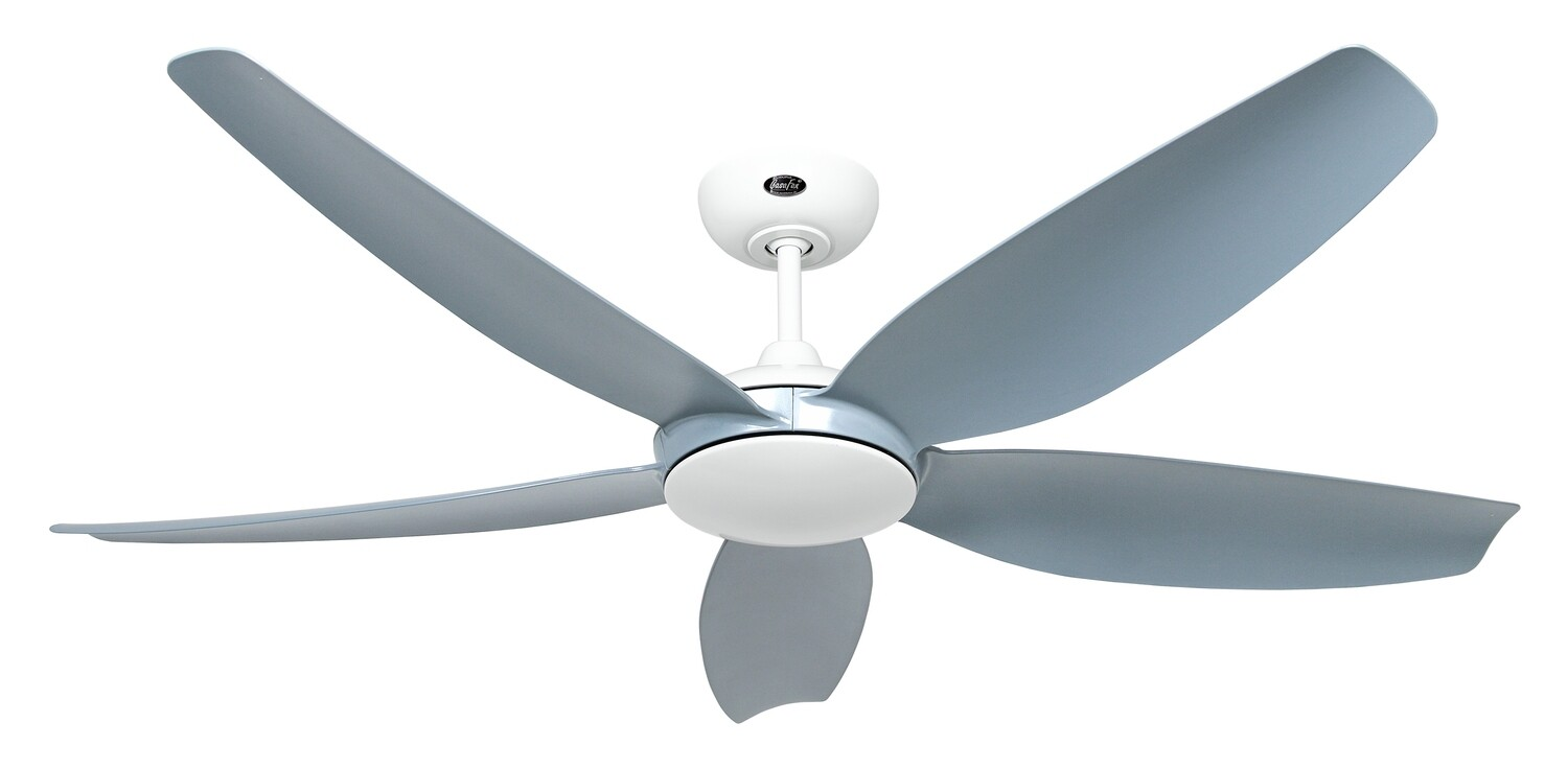 Eco Volare 142 WE-LG ceiling fan by CASAFAN Ø142 light integrated* and remote control included