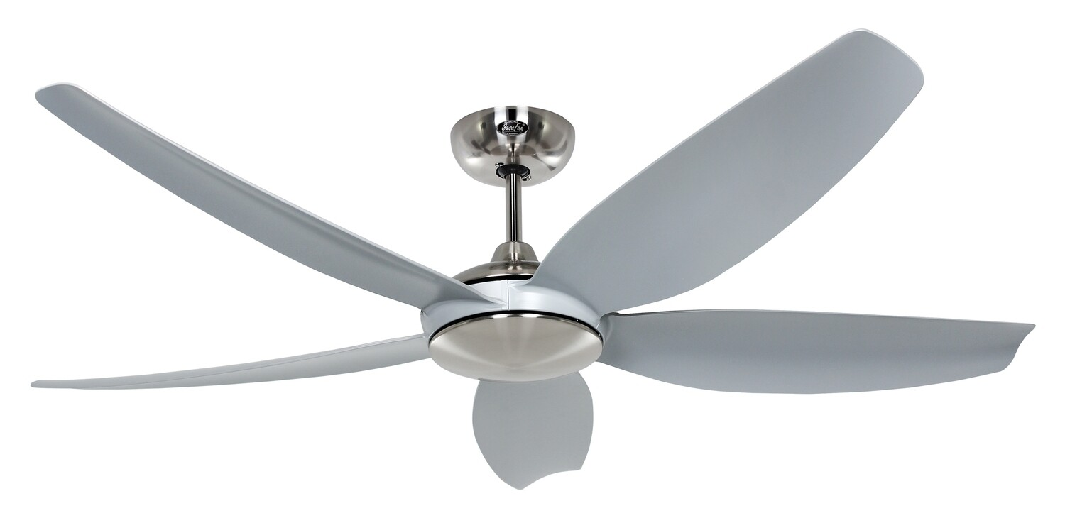 Eco Volare 142 BN-LG ceiling fan by CASAFAN Ø142 light integrated* and remote control included