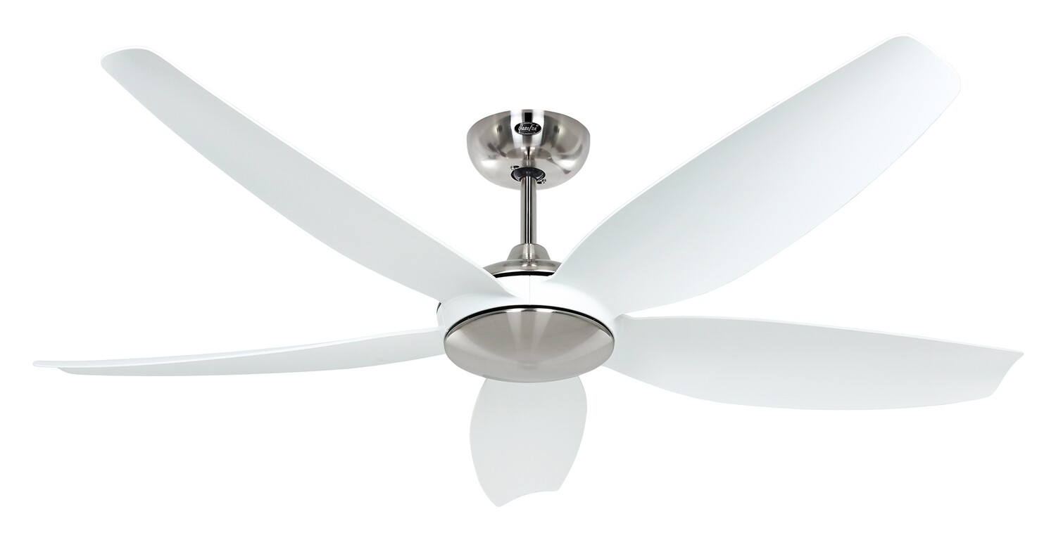 Eco Volare 142 BN-WE ceiling fan by CASAFAN Ø142 light integrated* and remote control included