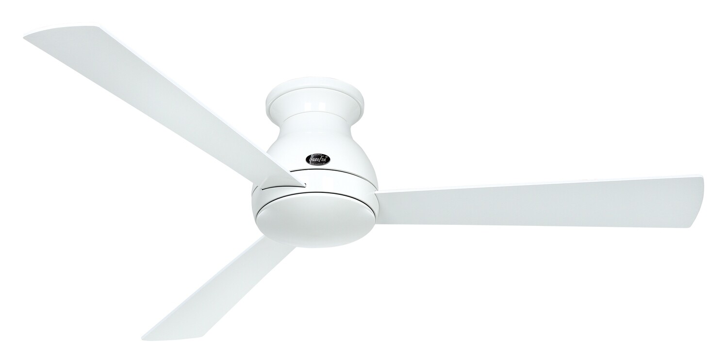 Eco Pallas 142 WE-WE/LG ceiling fan by CASAFAN Ø142 light integrated* and remote control included