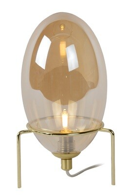 BELLISTER Table Lamp 1xG9 Glass  Amber