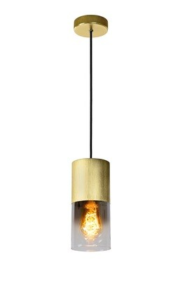 ZINO Pendant Ø10cm 1xE27 Matt Gold / Brass