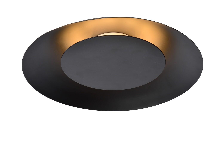 FOSKAL Ceiling Light LED 12W Ø34.5cm Black