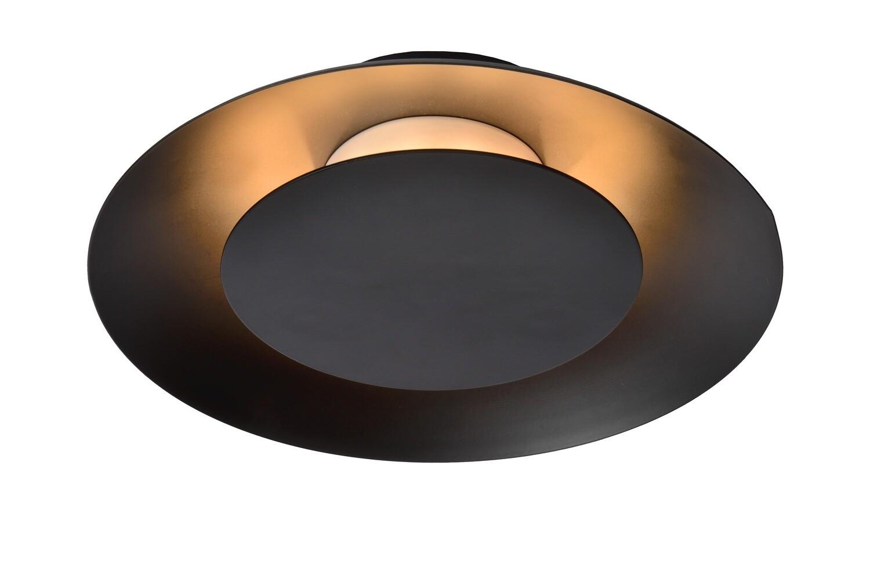 FOSKAL Ceiling Light LED 6W Ø21.5cm Black