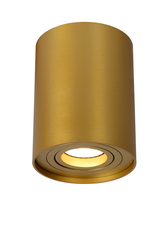 TUBE Ceiling spotlight Ø 9,6 cm 1xGU10 Matt Gold / Brass