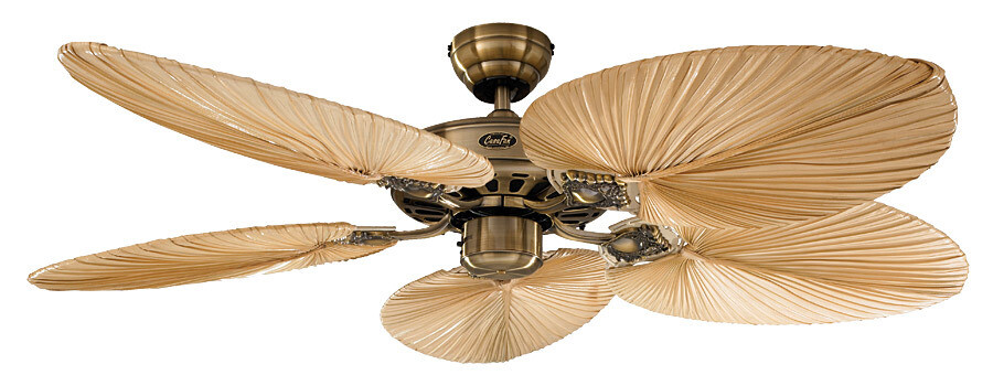 Classic Royal 132 MA palm ceiling fan by CASAFAN Ø132cm with Pull Chain