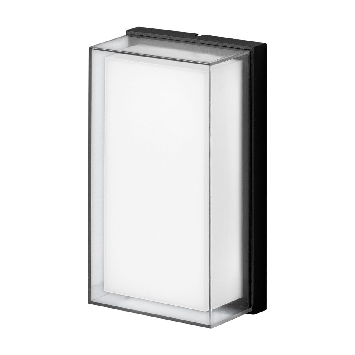 RIGHEL FLAT surface-mounted luminaire 11W 1050lm Grafite