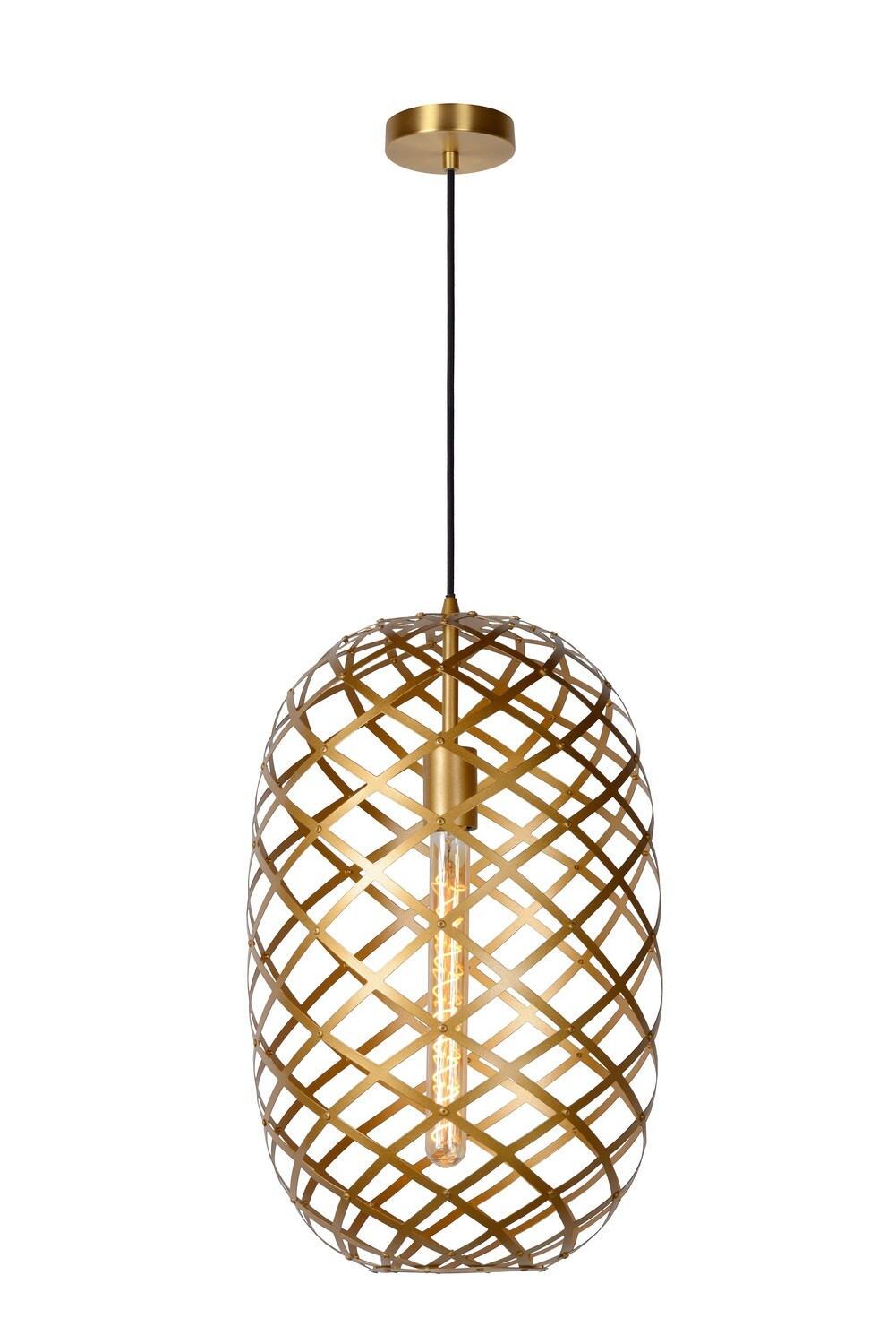 WOLFRAM Pendant light Ø 32 cm 1xE27 Matt Gold / Brass