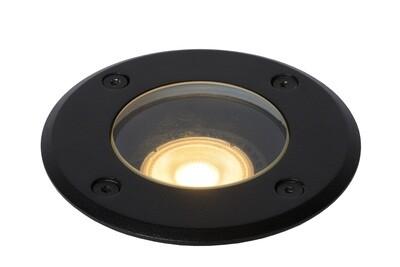 BILTIN Deck light Outdoor Ø 10,8 cm 1xGU10 IP67 Black