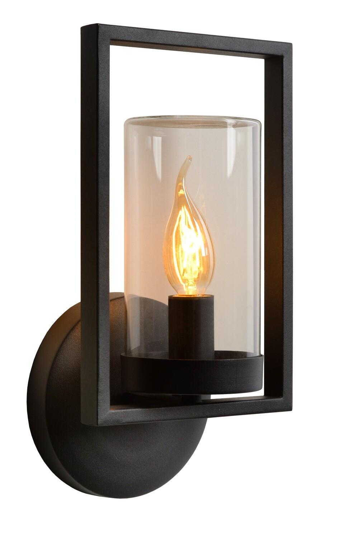 NISPEN Wall light Outdoor 1xE14 IP44 - Black