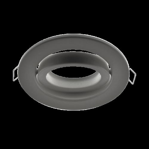 ARO XXL round tiltable Spot FRAME SATIN NICKEL for LED GU10 light-source