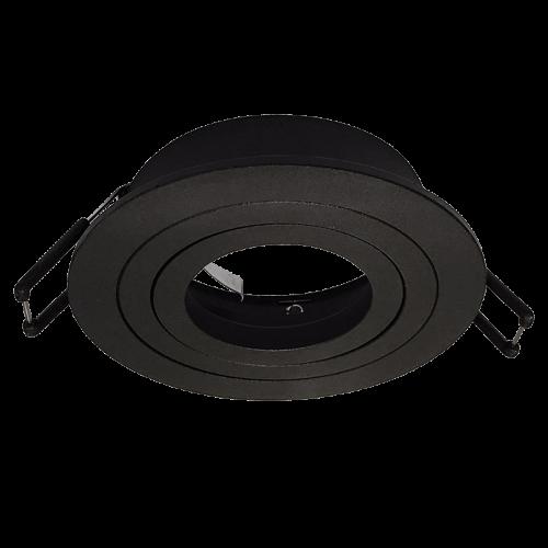 ARO ELEGANCE round tiltable Spot FRAME BLACK for LED GU10 light-source