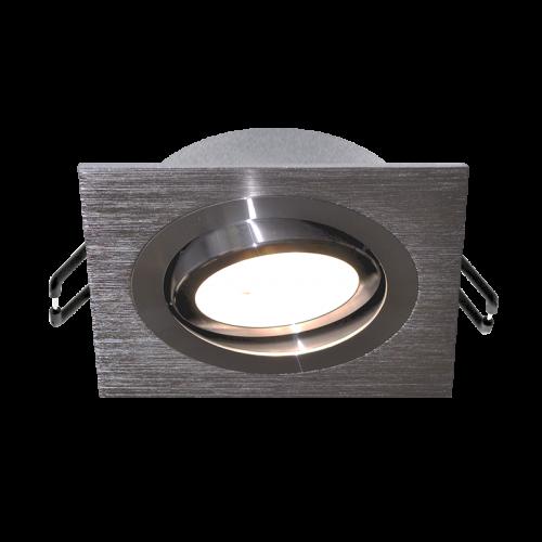ARO ELEGANCE square tiltable Spot BLACK for LED GU10 light-source