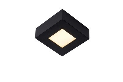 BRICE LED Ceiling S Dimmable 8W 3000K Square IP44 Black