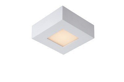 BRICE LED Ceiling S Dimmable 8W 3000K Square IP44 White