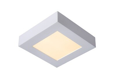BRICE-LED Ceiling L Dimmable 15W 3000K Square IP44 White