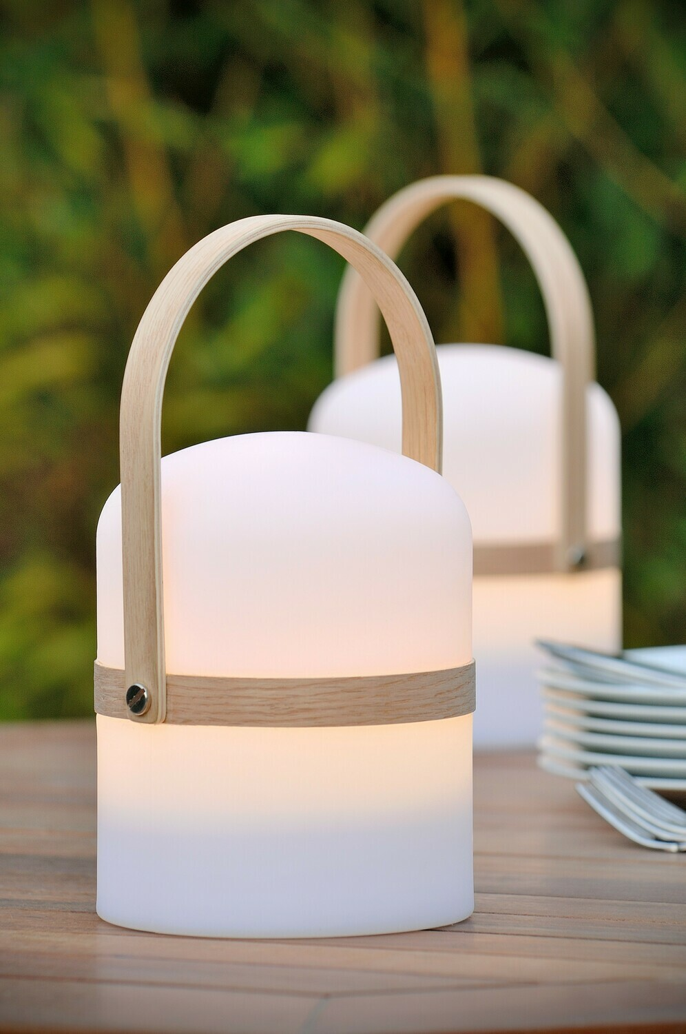 JOE portable rechargeable Table lamp Outdoor Ø 14,5 cm LED Dimmable 1x3W 2800K IP44