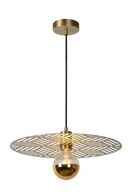 OLENNA Pendant light Ø 40 cm 1xE27 Matt Gold / Brass