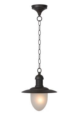 ARUBA Pendant light Outdoor Ø 25 cm 1xE27 IP44 Rust Brown