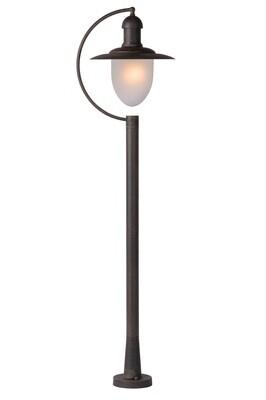 ARUBA Lamp post Outdoor 1xE27 IP44 Rust Brown