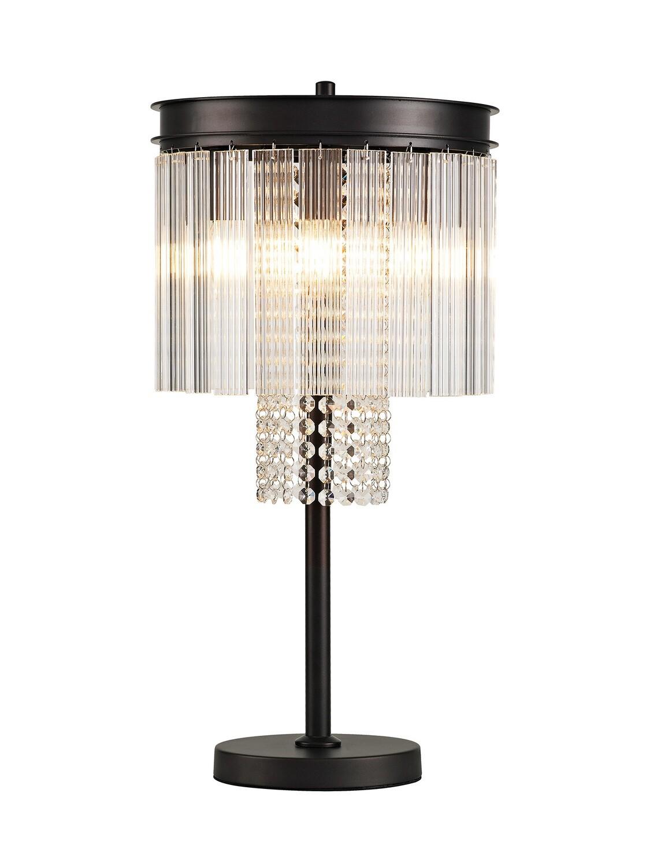 Amy Table lamp 6 Light E14, Brown Oxide
