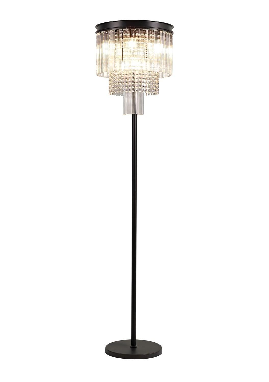 Amy Floor lamp 6 Light E14, Brown Oxide