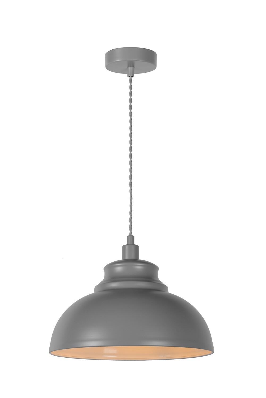 ISLA Pendant light Ø 29 cm 1xE14 Grey