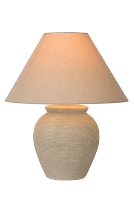 RAMZI Table lamp Ø 35 cm 1xE27 Cream
